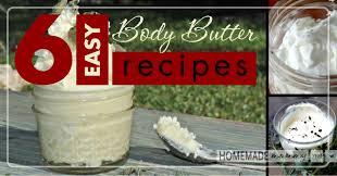 6 easy homemade body er recipes