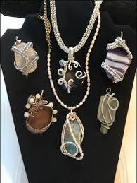 gem mineral jewelry fossil bead show