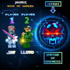 Scott,/Jay, and Digital Lloyd VS The Overlord On Ninjago TV