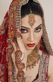 beautiful stani bridal makeup looks