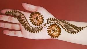 mehndi design 2020 simple and easy front hand