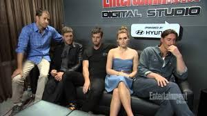 Haven Cast Comic Con 2013 EW interview ...