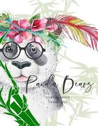 com months panda bamboo daily planner