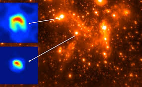 Estudian estrellas masivas con ayuda de infrarrojos