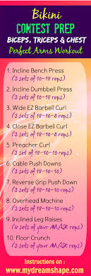 perfect arms prep workout my