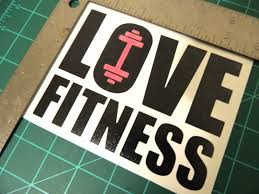 Make It Happen Fitness Gym Sticker Quote Decal Vinyl Fitness Motivation Wall For Sale Online Ebay