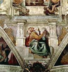 sistine chapel ceiling wall mural