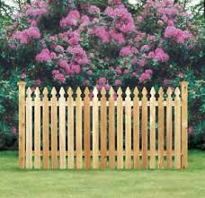 Cedar Spaced Picket Wood Fence Taylor Style Gothic Top 4 High X 80 Linear Feet Ebay