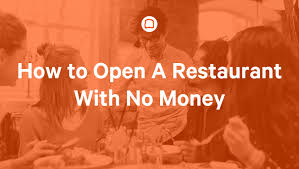 how to open a restaurant no money toast pos