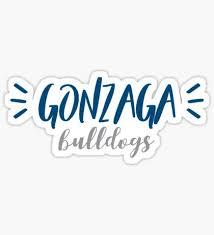 Gonzaga Stickers Sticker Design Stickers Gonzaga