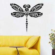 Wall Room Decor Art Vinyl Sticker Mural Decal Animal Dragonfly Abstraction Fi162 751778745333 Ebay