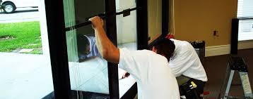 fix broken glass window