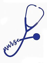 Custom Nurse Stethoscope Vinyl Decal Nursing Bumper Sticker For Tumblers Laptops Car Windows Nurse Ekg Rn Cna Lpn Gift Wickedgoodz