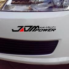 Jdm Power Car Sticker Bumper Decal For Toyota Honda Mitsubishi Walmart Com Walmart Com