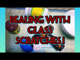 deep scratches from glass aquarium