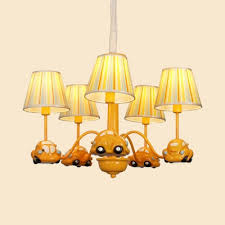 pendant light with cartoon car tapered