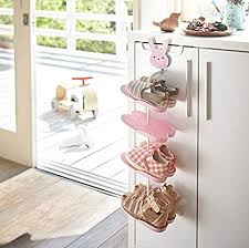 Amazon Com Luckstar Children Shoe Rack Hanging Shoes Rack Storage Organizer Shoes Stand Shelf For Kids Pink Furniture Decor