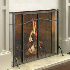 hyde park flat panel fireplace screen