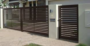 Pictures Of Swinging Gates Image Gallery Brisbane Automatic Gates House Gate Design House Main Gates Design Main Gate Design