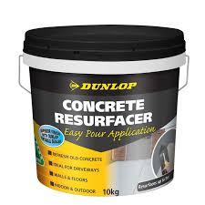 dunlop 10kg concrete resurfacer mortar