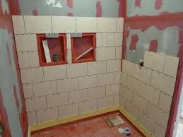 install tile on shower tub wall