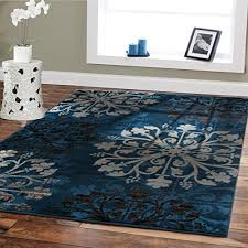 modern rugs for dining rooms blue beige