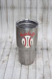 Proud Baseball Mom Yeti Cup Decal Living Life Rosie