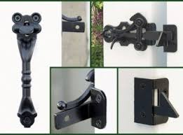 Pin On Gate Lock And Latch Design