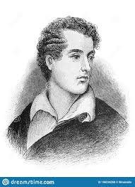 The Lord Byron George Gordon Byron`s Portrait, An English Poet, Peer And  Politician Who Became A Revolutionary In The Old Book Editorial Stock Photo  - Image of byron, engraving: 180236268