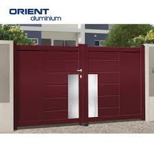 Hot Selling Modern Gate Design In The Philippines View Modern Gate Design In The Philippines Orient Aluminium Product Details From Shandong Orient Aluminium Co Ltd On Alibaba Com