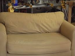 suede cloth or leather couch