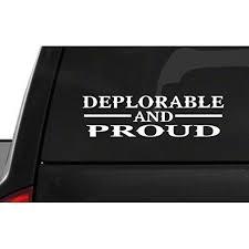 Deplorable And Proud M56 Usa Vinyl Sticker Car American Window Decal Walmart Com Walmart Com