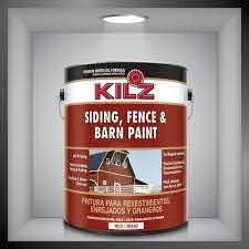 Decorative Paint Kilz Siding Fence And Barn Kilz Facade Exterior Latex