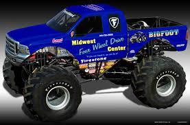 bigfoot monster truck wallpapers