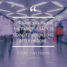 the van halen the family le eddie van halen about family