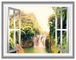 Vwaq 3d Window Decal Wall Sticker Rustic Wall Decals By Vwaq Vinyl Wall Art Quotes And Prints