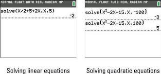 ti 84 plus calculator s solve function