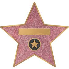 Hollywood Star Decals 8ct Party City
