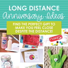 long distance anniversary ideas the