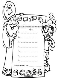 Sinterklaas Kleurplaat Pakjeshuis Van Sinterklaas Mooie Kleurplaten