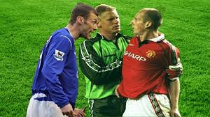 Duncan Ferguson Vs Jaap Stam○Wild Moments - YouTube