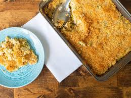Seafood Casserole with Ritz Crackers ...