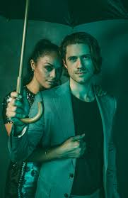 Exclusive! Karen Olivo and Aaron Tveit Are Ready for the High ...