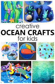 15 Creative Ocean Crafts For Kids