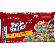 malt o meal cereal tootie fruities