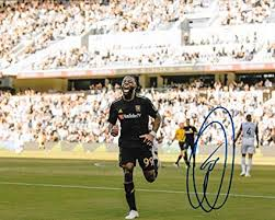 Adama Diomande signed Los Angeles Football Club LAFC 8x10 photo MLS 2 -  Autographed Soccer Photos at Amazon's Sports Collectibles Store