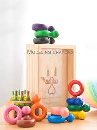 baby crayon ring shape design non toxic