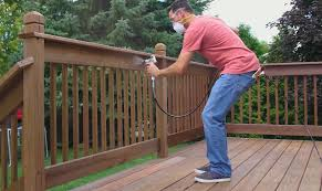 How To Paint Or Stain A Deck Wagner Spraytech