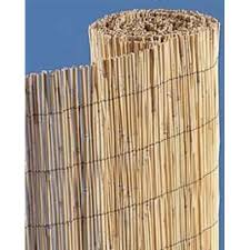 Natural Bamboo Reed Fence 4 High X 25 Wide