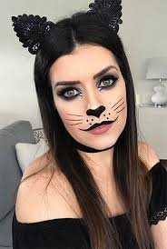 halloween cat face makeup ideas 2019